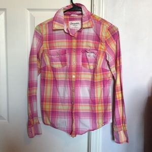 Aeropostale button down flannel